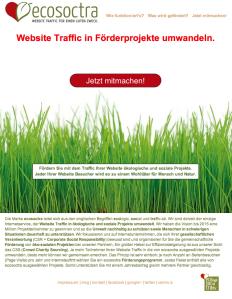 ecosoctra Homepage